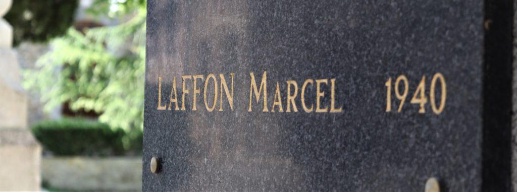 Marcel Laffon, 1940. Combattant Souilhanelois, mort au combat.